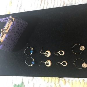 Assorted pierced earring with purse box